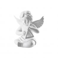 Figurka Anioł z trójkątem, mały 6cm Rosenthal anioły sklep 69054-000102-90087