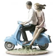 Figurka Przejażdżka 27cm Lladro sklep, 01009231