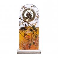 Zegar kryształowy 32cm Papużki Louis Comfort Tiffany Sklep Goebel 66879851