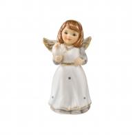 Figurka Mini Aniołek z gołębiem 4,5cm biel 41550471 Goebel sklep
