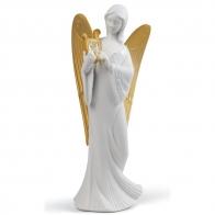 Figurka Anioł Niebiaski Anioł Czub Choinkę 21cm 01007728 Llro sklep