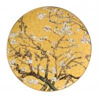 Talerz ścienny/Misa 36cm Drzewo Migdałowe Złoto Vincent van Gogh 66-489-35-1 Goebel sklep