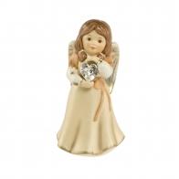 Figurka Anioł z sercem 1 & kryształ Swarovskiego 8cm 41563901 Goebel sklep
