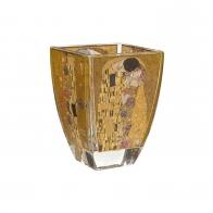 Świecznik Tealight 11cm Pocałunek - Gustav Klimt 66900879 Goebel sklep