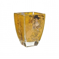 Świecznik Tealight 11cm Adele Bloch-Bauer Gustav Klimt 66900978 Goebel sklep