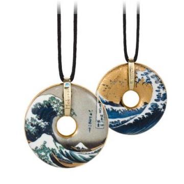 Naszyjnik - Hokusai The Wave 5cm, Goebel 66989948