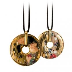 Naszyjnik Pocałunek Gustav Klimt
