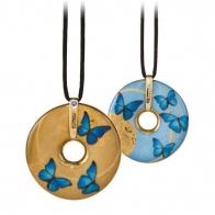 Naszyjnik 5cm Niebieskie Motyle Joanna Charlotte 66999011 Goebel sklep