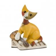Figurka koty z madoliną 9cm Rosina Wachtmeister 31400281 Goebel sklep