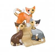 Figurka Koty Spotkanie na schodach 11cm Rosina Wachtmeister Goebel sklep