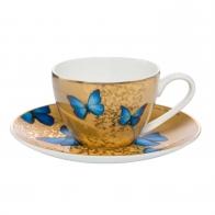 Filiżanka do mokki 0,10l Niebieskie Motyle Joanna Charlotte 26150361 goebel sklep