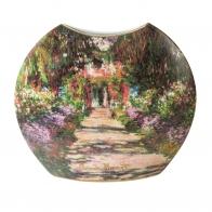 Wazon porcelanowy 30cm Ścieżka w ogrodzie artysty Monet 66539241 Goebel sklep