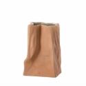Wazon 14cm Brązowy Paper Bag