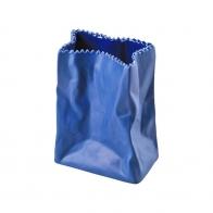 Wazon 10cm Niebieski Paper Bag Rosenthal sklternetowy