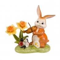 Figurka Zająca Wiosenny Taniec 13cm 66843451 Goebel