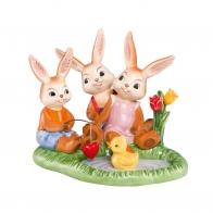 Figurka Zające Idelane Rodzina 12cm Edycja limitowana 66843701 Goebel