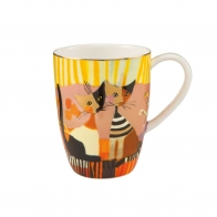Kubek koty Złote Chwile 0,4l Rosina Wachtmeister 66860141 Goebel