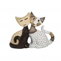 Figurka koty Romolo i Celeste 8cm Rosina Wachtmeister 311861 Goebel
