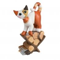 Figurka Kot odkrywaca 13cm Rosina Wachtmeister 31400039 Goebel