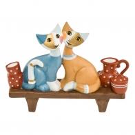 Figurka Koty na ławce 14cm Rosina Wachtmeister 31400251 Goebel