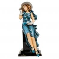Figurka Kobieta w rękawiczkach 37cm Tamara De Lempicka 67070051 Goebel