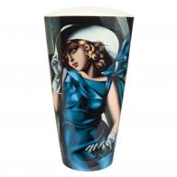 Wazon Kobieta w rękawiczkach 50 cm Tamara De Lempicka 67070031 Goebel