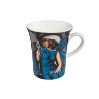 Kubek 0,4l Kobieta w rękawiczkach Tamara De Lempicka 67070071 Goebel
