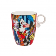 Kubek Tonight 0,4l Romero Britto 66451981 Goebel