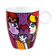 Kubek All for You 0,4l Romero Britto 66451551 Goebel