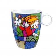 Kubek Ballet Dancer 0,4l Romero Britto 66451297 Goebel