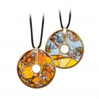 Naszyjnik 5cm Papugi Tiffany 66999171 Goebel