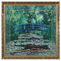 Obraz porcelanowy 68x68 cm Japoński Ogród Claude Monet 66517441 Goebel