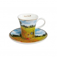 Filiżanka do espresso 0,1l Pole Maków Claude Monet 67011691 Goebel