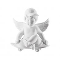 Figurka Anioł na deskorolce średni 11 cm NOWY '17 69055-000102-90516 Rosenthal