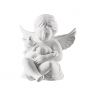 Figurka Anioł z kotkiem mały 6,5 cm NOWY '17 69054-000102-90517 Rosenthal