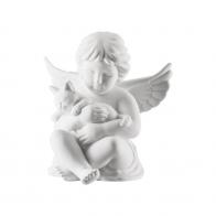 Figurka Anioł z kotkiem duży 14cm NOWY '17 69056-000102-90517 Rosenthal