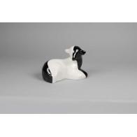 Figurka Baranek czarno-biały AS Cmielów