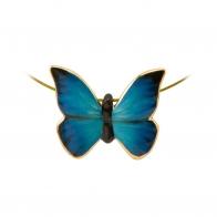 Naszyjnik Niebieski Motyl Joanna Charlotte 26150451 Joanna Charlotte