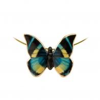 Naszyjnik Turkusowy Motyl Joanna Charlotte 26150471 Goebel