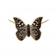 Naszyjnik Biało Czarny Motyl Joanna Charlotte 26150481 Goebel