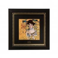Obraz porcelanowy 25x25cm Adele Bloch-Bauer Gustav Klimt 66-518-52-1 Goebel