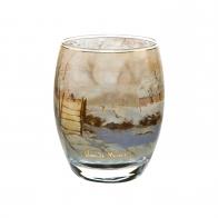 Świecznik 10cm Krajobraz Zimowy Claude Monet 66927121 Goebel