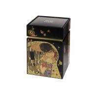 Pudełko na herbatę 11cm Pocałunek Gustav Klimt 67065011 Goebel