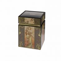 Pudełko na herbatę 11cm Cztery Pory Roku A. Muchy 67065031 Goebel