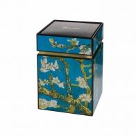 Pudełko na herbatę 11cm Van Gogha - Drzewo Migdałowe 67065041 Goebel