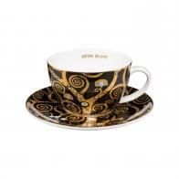 Filiżanka do herbaty 0,25l Gustaw Klimt Drzewo Życia 66532031 Goebel porcelana