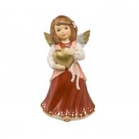 Figurka z porcelanyAnioł z sercem 14cm Christmas 41554291 Goebel