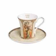 Filiżanka z porcelany do espresso 0,1l Wiosna/Lato A. Mucha 67011631 Goebel