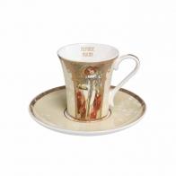 Filiżanka z porcelany do espresso 0,1l Jesień/Zima A. Mucha 67011681 Goebel