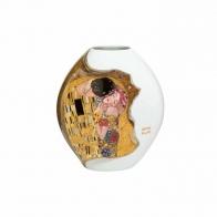 Wazon z porcelany 14cm Pocałunek Gustav Klimt 66500401 Goebel